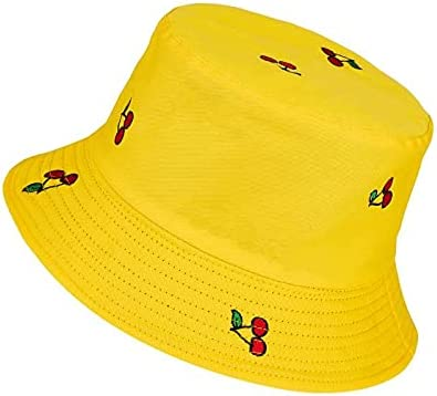 Quantity limited online shopping YYDiannaWu Reversible Bucket Hats Fishman Sun Caps Packable