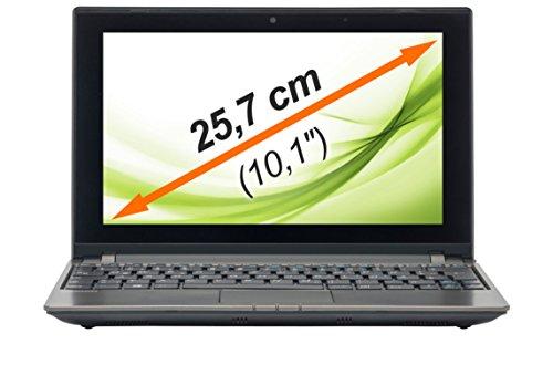 Medion Akoya E1318T - Portátil de 10' (AMD athlon, 2 GB de RAM, 500, Windows 8), Gris [Importado]