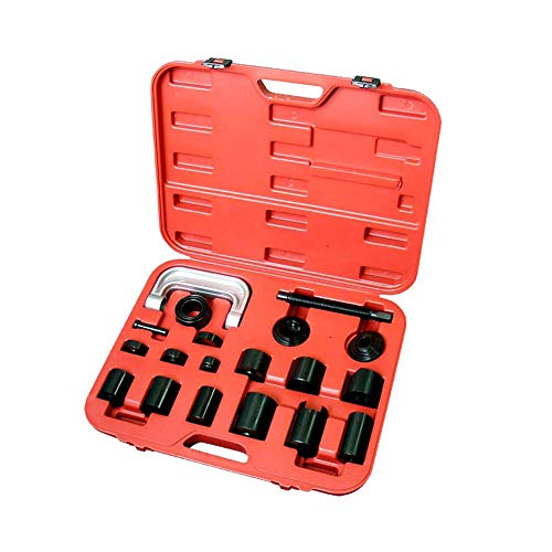 A ABIGAIL Master Ball Joint Press & U-Joint Puller Service Tool Set 21PCS Upper and Lower Ball Joint Removal Tool Set