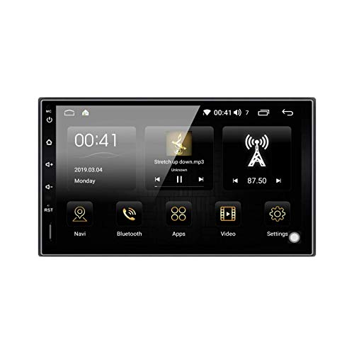 Ezonetronics Android 9.0 DSP Autoradio Stereo 7 Zoll kapazitiver Touchscreen High Definition 1024x600 GPS-Navigation Bluetooth USB SD Player 4G DDR3 + 32G NAND Memory Flash