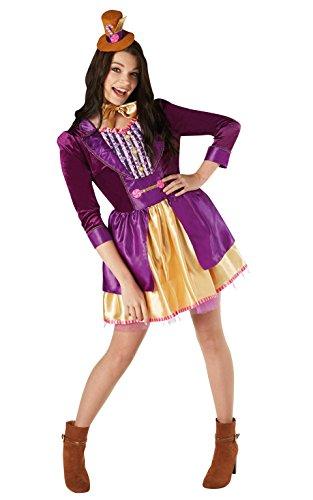 Rubies 's oficial Willy Wonka y la fbrica de Chocolate disfraz para mujer