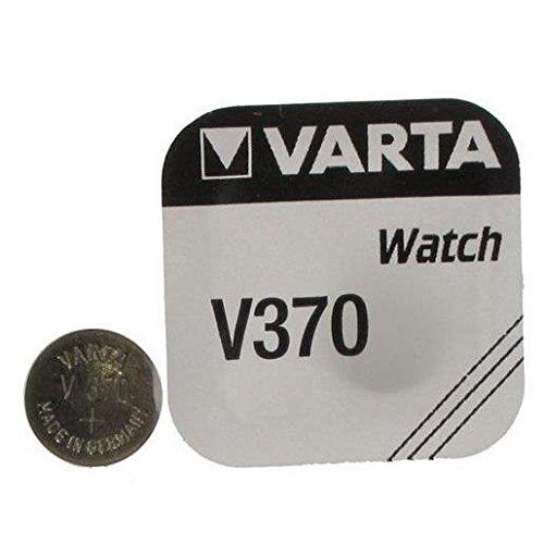 6Stück Varta Batterien Zirkonia Silber für Uhren V370(SR69) 1,55Volt