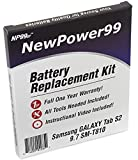 NP99sp Battery Kit for Samsung Galaxy Tab S2 9.7 SM-T810 with Tools, Video and Extended Life Battery