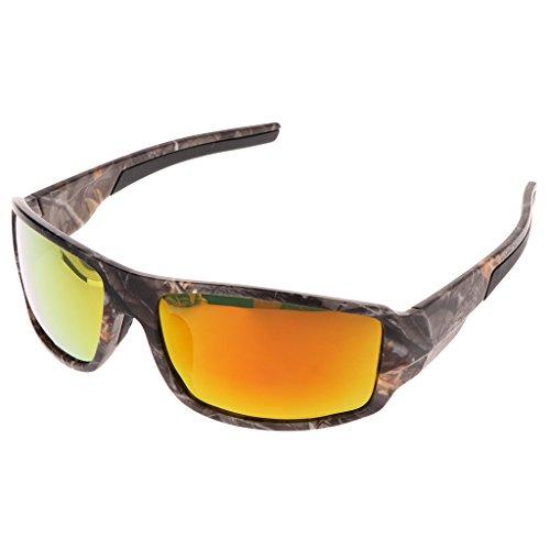 GASSDINER Ciclismo Gafas de Sol Gafas polarizadas Protección Deportes al Aire Libre Pesca UV400
