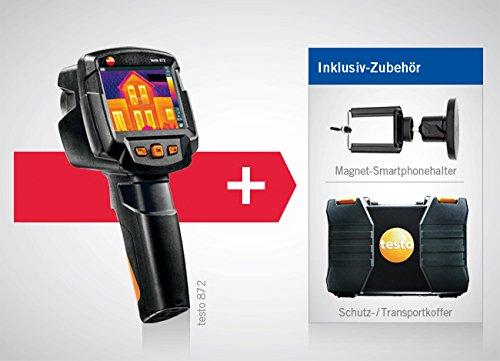Wärmebildkamera testo 872 mit Funkmodul Bluetooth/WLAN, inklusive Koffer, Kleinschmidt GmbH Magnet-Smartphonehalter