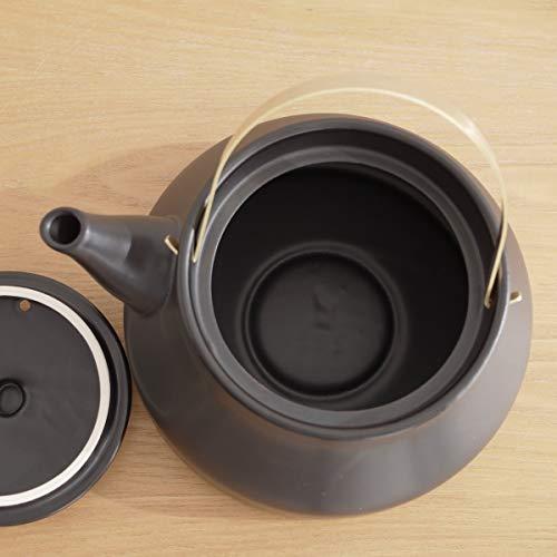 広く口が開くので、水を入れるのにも、お手入れするのにも便利です。沸かしたお湯は柔らかな口当たりで、沸騰するときの音も優しい音色が特徴です。