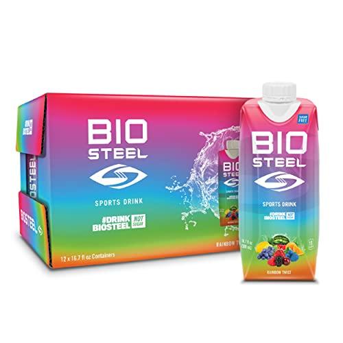 BioSteel Sports Drink, Sugar-Free with Essential Electrolytes, Rainbow...