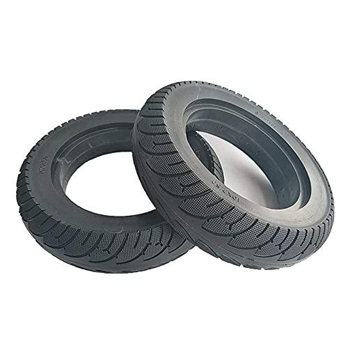 Neumático para Scooter eléctrico, neumático sólido de 10 Pulgadas 10X3.0 a Prueba de explosiones, Caucho Grueso Antideslizante Resistente al Desgaste, neumático sin Mantenimiento y Resistent