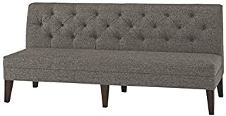 Signature Design by Ashley Tripton Bench, Graphite Extended Dining (Renewed)