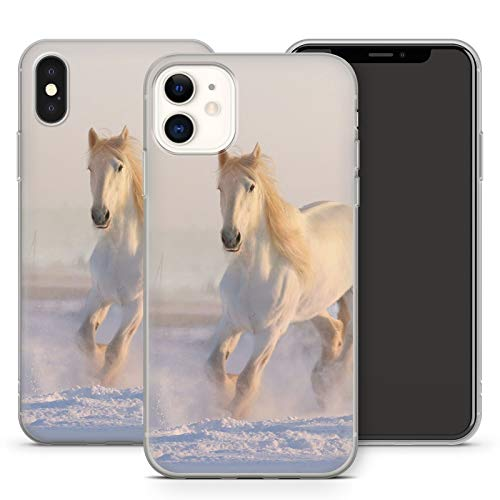 Handyhülle Pferde für iPhone Apple Silikon MMM Berlin Hülle Pferd Reiter Reiterhof Horse Trense, Kompatibel mit Handy:Apple iPhone 6 / 6S, Hüllendesign:Design 1 | Silikon Klar