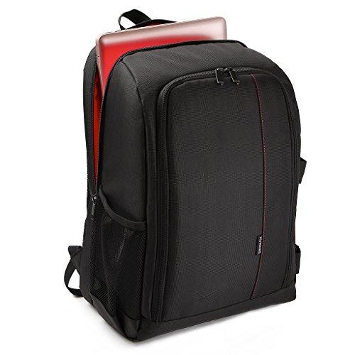 Yunmeng Rugzak voor dames en heren, laptoprugzak, 16 inch laptoptas