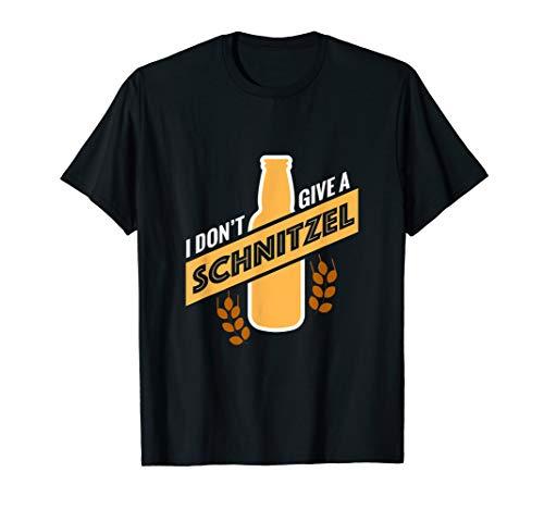 Bier Schnitzel Outfit I Party Saufen Alkohol Fun Geschenk T-Shirt