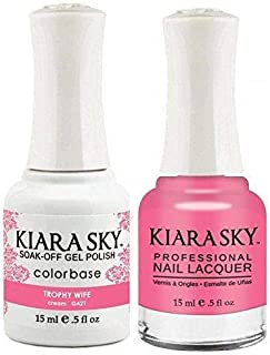 Kiara Sky Matching Gel Polish and Nail Lacquer Trophy Wife, 421
