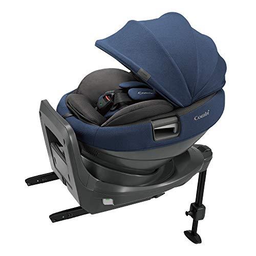 Combi(コンビ) ISOFIX固定 チャイルドシート 新生児から4才頃まで ホワイトレーベル THE S ISOFIX エッグショック ZB-690 ネイビー ベースとシートが分かれるセパレート構造