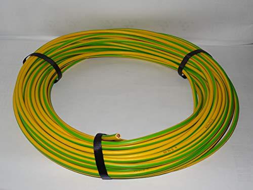 10m Erdungskabel 4mm² - Grün/Gelb - H07V-K - Aderleitung feindrähtig flexibel