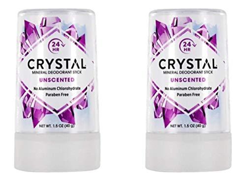 CRYSTAL DEODORANTS CRYSTL BODY,TRAVEL STICK, 1.5 OZ by CRYSTAL Deodorant