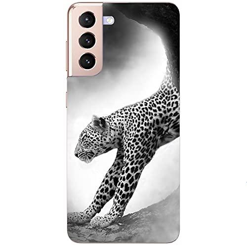 Generisch Puma - Carcasa de silicona para iPhone 5S, diseño de leopardo