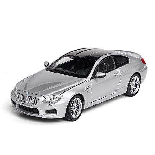 1:24 Simulación De Modelo De Coche para BMW-M6 Diecast Coche De Juguete Puerta De Vehículo Abierta Niños Colección De Coches Adorno Decoración Regalos De Cumpleaños Juguetes Modelo De Auto
