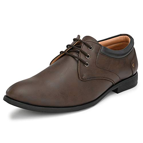 Centrino Men's 3380 Brown Formal Shoes - 6 UK (40 EU) (7 US) (3380-01)