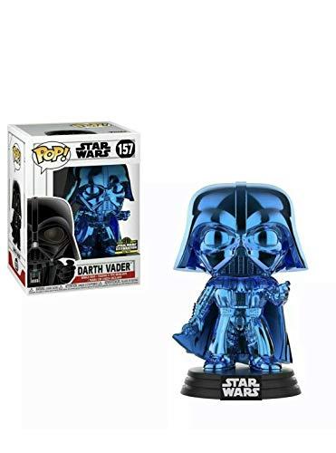 Star Wars Funko POP Celebration Chicago Exclusivo Azul Darth Vader #157