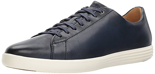 Cole Haan Men's Grand Crosscourt II Sneaker, navy leather burnished, 11.5 Medium US