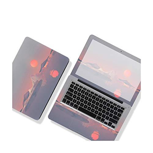 Peach-girl - Adhesivo decorativo para ordenador portátil, diseño de paisaje, cubierta para ordenador portátil, película impermeable para HP/Dell/ASUS/Huawei-Nc-522-13