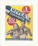 Kunstdruck Nivea Zahnpasta Tube Zahnhygiene Familie Marke