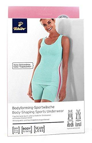 TCM Tchibo Damen Bodyforming Sportwäsche Seamless Mint (32/34 XS)