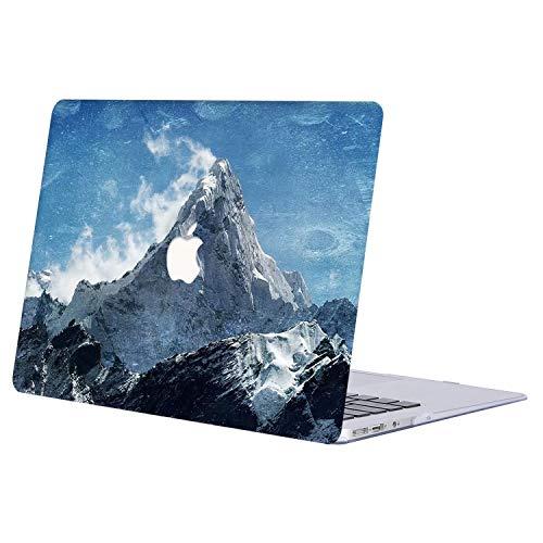 AJYX Funda para MacBook Pro 13, Carcasa Protectora de Plástico Duro para MacBook Pro 13.3' con CD Drive (A1278), R825 Montaña