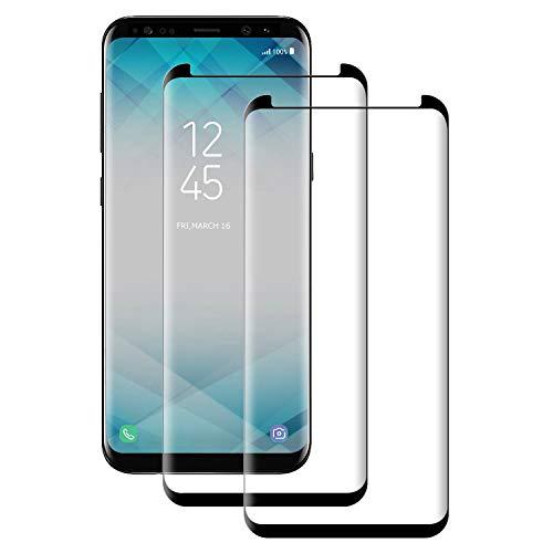 Aspiree Verre Trempé pour Samsung Galaxy S9 Plus, [2 Pièces] Protection Ecran S9 Plus, Film De Protection pour Samsung S9 Plus - Anti-Rayures - HD - Ultra Resistant Dureté 9H - sans Bulles