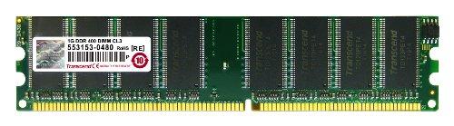 Transcend JM388D643A-5L Jet Ram - Memoria RAM 1 GB DDR 400 DIMM...