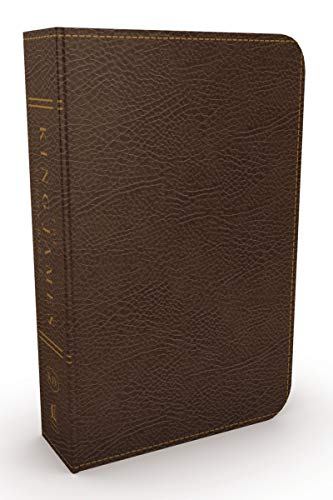 KJV, The King James Study Bible, Bonded Leather, Brown, Red Letter, Full-Color Edition: Holy Bible, King James Version