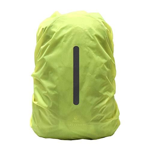 Noete Funda impermeable para mochila, mochila, mochila con tiras reflectantes, funda de seguridad para ciclismo, exterior, camping