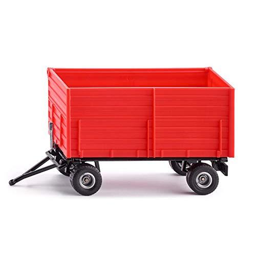 SIKU 2898, Remolque de dos ejes, 1:32, Caja basculante, Metal/Plástico, Rojo