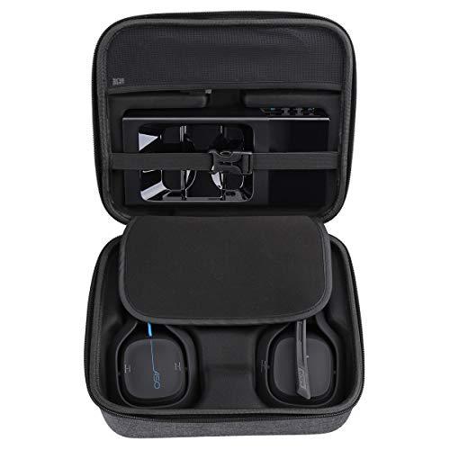Aproca Hart Schutz Hülle Reise Tragen Etui Tasche für Astro Gaming A50 / A40 Headset (Grey)