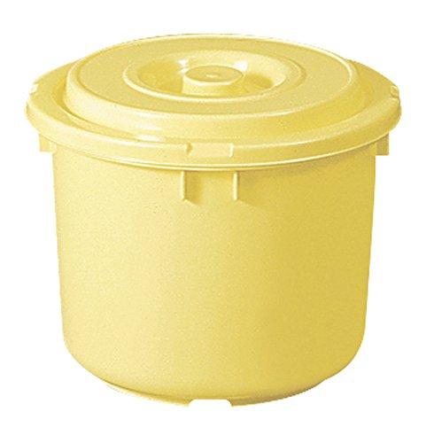 トンボ 漬物容器 漬物樽 10L 日本製 押し蓋フタ付き クリーム 新輝合成 10型