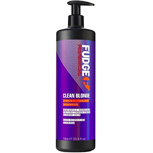 Fudge Clean Blonde Violet Shampoo litre (new 2014 packaging)