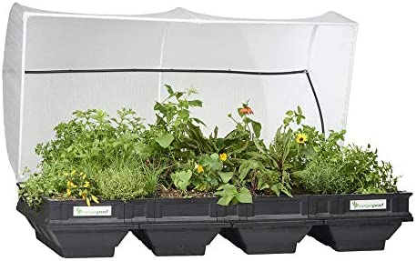 Vegepod Raised Garden Bed Self Watering Container Garden Kit with Protective Cover Easily Elevated product image