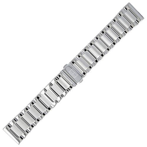 Tommy Hilfiger Uhrenarmband 22mm Edelstahl Silber - 679001389