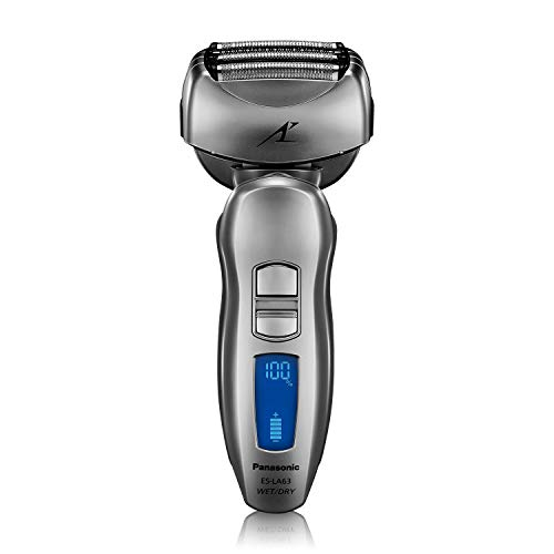 Panasonic ES-LA63-S Arc4 Men's Electric Razor, 4-Blade Cordless with Wet/Dry...
