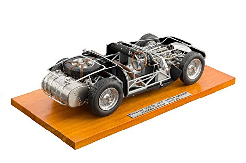 CMC-Classic Model Cars Maserati 300S 1956 Rolling Chassis 1:18 Scale Detailed Assembled Collectible Historic Antique Replica