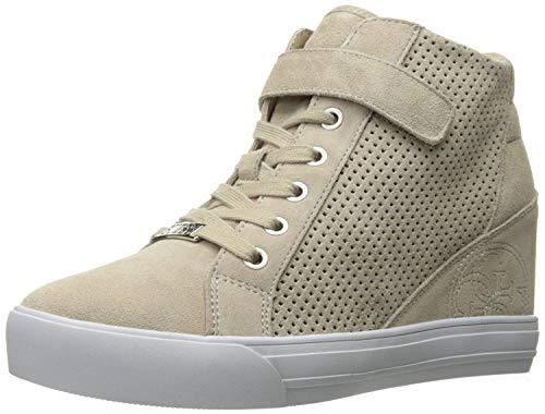 GUESS Women's Decia Wedge Hightop Sneakers