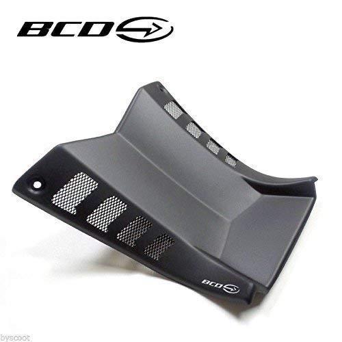 BCD Tunnel d'admission Prise d'air Compatible avec Yamaha T-Max 530 TMax I et II Noir Mat (2012-2016) Neuf