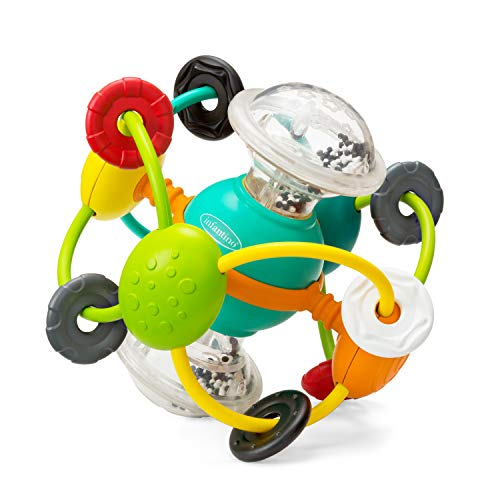 Infantino Magic Beads Activity Ball, Multi Color
