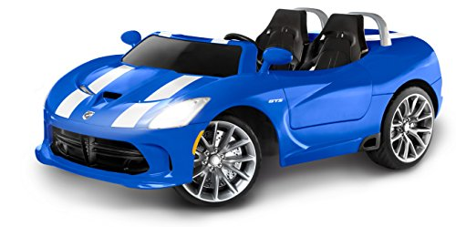 Kid Trax Dodge Viper SRT 12V Battery-Powered Ride-On Toy, Blue