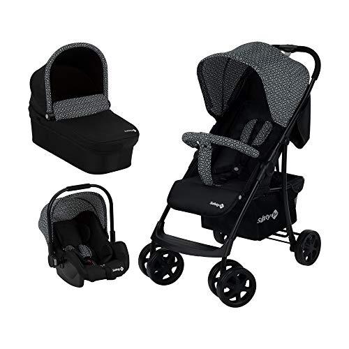 Safety 1st Roadeo, Poussette 3 en 1 avec Nacelle bébé et Cosi Groupe 0+, De la naissance à 4 ans, Geometric