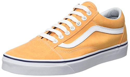 Vans Vans Herren Ua Old Skool Sneaker, Gelb (Washed Canvas Citrus/Crown Blue), 44 EU