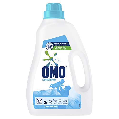 Omo Sensitive Laundry Liquid Detergent Front and Top Loader 2L (Packaging May Vary)