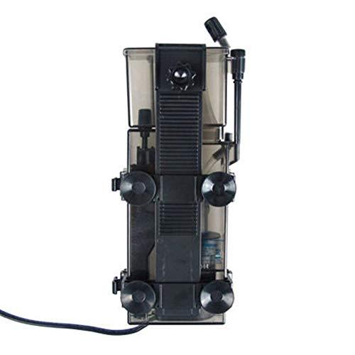 BAN SHUI JU MINSU GUANLI Protein Skimmer Marine Aquarium Aquarium Filtersystem Zubehör RESUN SK300 3.5W 300 L/H. Laufruhig Und Leise (Color : SK 300, Size : UK Adapter Plug)