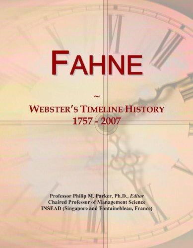Fahne: Webster's Timeline History, 1757 - 2007